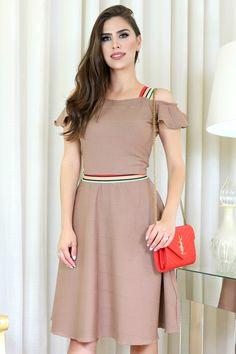 d37622eb8844 Vestido Maria Moda Evangélica Gisele Santana - Vestido da marca Gisele  Santana em tecido de Venetia