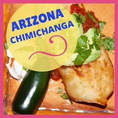 The only official state food in Arizona is the Apache trout, but many people suggest that the chimichanga should be the state food. State Foods, Round Roast, Chimichanga, Recipe Notes, Pinto Beans, Refried Beans, World Recipes, Fish Dishes, Trout