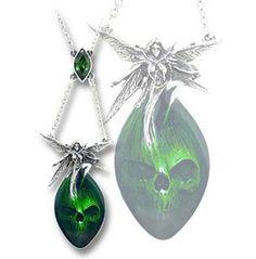 Absinthe Fairy Pendant necklace