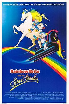 Rainbow Brite and the Star Stealer.    The quintessential movie for kids who were made in the 80s! (and one of my favorite movies all time...I can watch this over and over).