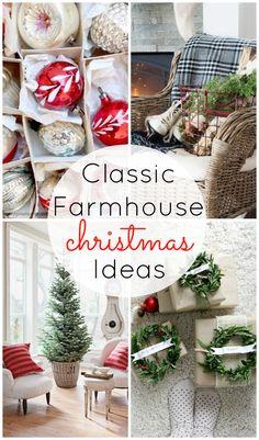 Classic Farmhouse Christmas Ideas