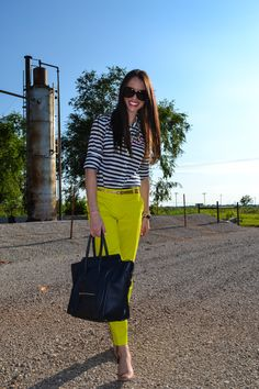Summer outfit: work wear.