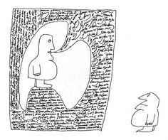 Saul Steinberg Saul Steinberg, The New Yorker, Illustrations, Illustration Art, Line Doodles, Visual Metaphor, Funky Art, Humor Grafico, Converse