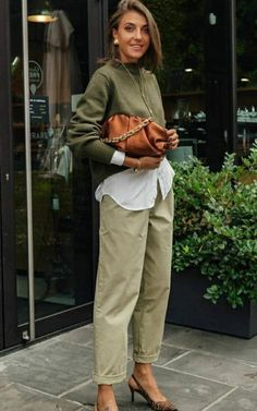 Chic Outfits, Fall Outfits, Fashion Outfits, Womens Fashion, Fashion Trends, Mode Chic, Mode Style, Casual Street Style, Casual Chic