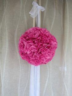 DIY Tissue Paper Pomander Ball