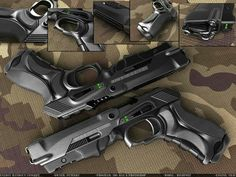 Energy Handgun Concept