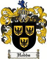 Hobbs Coat of Arms / Hobbs Family Crest
