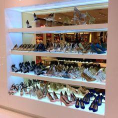 Dream Closet Display but I'd use it for designer handbags instead!
