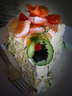 Sandwich Cake--smorgastarta