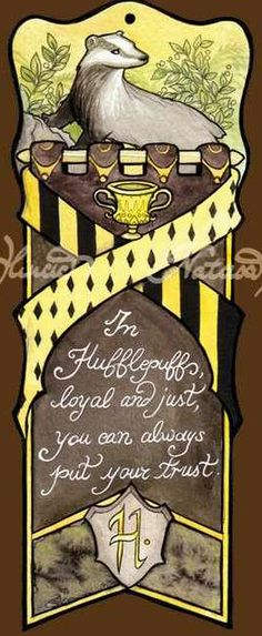 Hufflepuff Bookmark