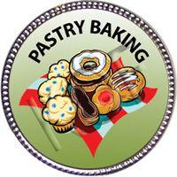 Pastry Baking, Silver Award Pin