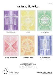 Schule für Logos Gradualis Set »Ich denke die Rede ...« (6 Postkarten)