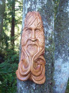 Madrone wood spirit
