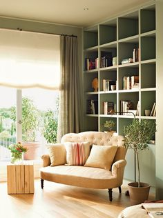 Pembe Yastık / Ev Dekorasyonu Blogu ve Dekorasyon Önerileri: Birbirinden güzel ve ilham verici 25 kütüphane Dekorasyonu