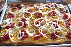 Vida Campestre: Pizzada 100% vegetariana