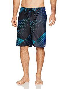 daf7748905f1 Laguna Men's diffraction Patterned Boardshort Review Menswear, Pocket,  Swimwear, Patterned Shorts, Fashion