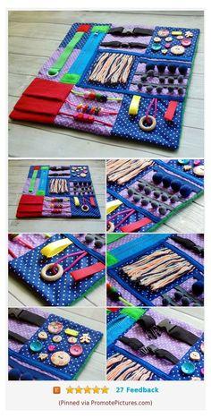 Sensory Blanket, Sensory Book, Alzheimers Activities, Dementia Crafts, Diy Fidget Toys, Fidget Blankets, Fidget Quilt, Baby Sewing Projects, Baby Toys