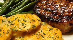 Grilled Brown Sugar Pork Chops