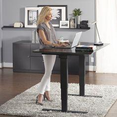 Jesper Height-Adjustable Sit & Stand Desk