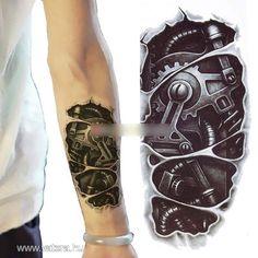 Divaros 3D kar robot tetoválás matrica ideiglenes - Vatera.hu