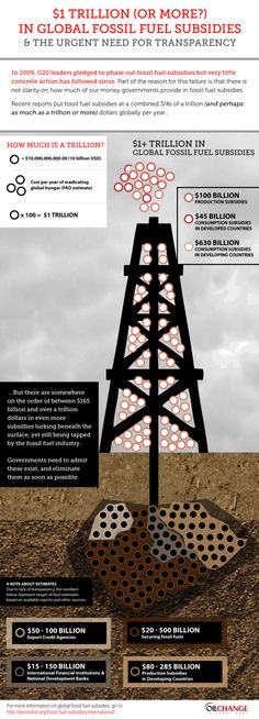 International fossil fuel subsidies