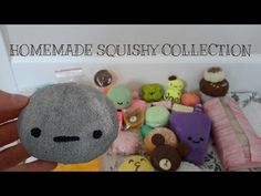 HOMEMADE SQUISHY COLLECTION - YouTube