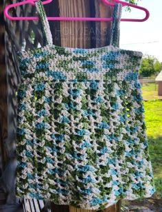 Toddler Beach Dress Crochet Pattern 54