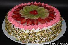 gülay mutfakta: Meyveli Pasta
