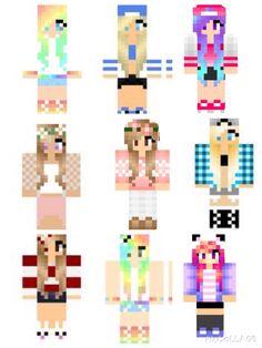 Minecraft Skins Minecraft Mädchen Skins, Minecraft Kingdom, Cool Minecraft Houses, Minecraft Party, Minecraft Skins For Girls, Minecraft Crafts, Minecraft Cake, Yarn Display, Mc Skins