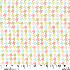 Happy Houndstooth in Multi $9.75