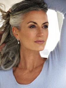 Hairstyles For Gray Hair Mesmerizing 20 Great Hairstyles For Ladies Over 50  Long Hairstyles 2015  Hair