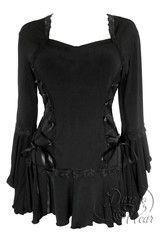 Bolero Top in Black | Dare Fashion