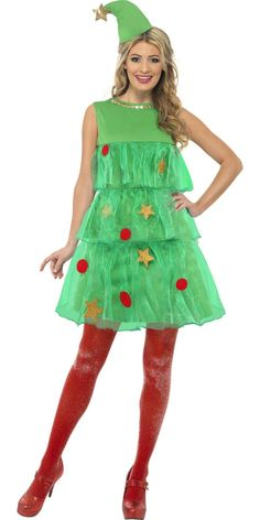 Christmas Tree Tutu Costume - 24331 - Fancy Dress Ball