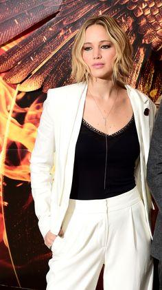 Jennifer Lawrence at the 'Mockingjay: Part 1' Photocall in London   9th Nov   ..rh