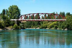 Clyde Bridge over Clutha River, Central Otago