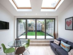 When this customer realized that upgrading to a larger home is unfeasible they decided to transform their pretty Victorian cottage in Teddington into the space they craved. Glass Extension, Extension Ideas, Victorian Cottage, Planning Permission, Large Homes, Lofts, Extensions, Bob, Farmhouse