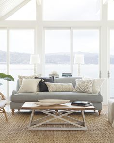 Crazy Tips: Coastal Living Room Sofa coastal style mood boards.Coastal Design Open Concept coastal home furniture. Coastal Living Rooms, Living Room Modern, My Living Room, Living Room Interior, Living Room Furniture, Living Room Designs, Home Furniture, Living Room Decor, Coastal Cottage