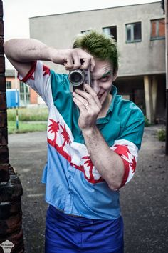 The Joker cosplay from Batman: The Killing Joke by The Puddins' Cosplay