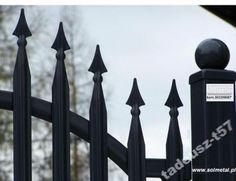 Ogrodzenia, bramy, brama, sztachety ogrodzenie:  www.solmetal.pl