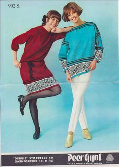 Fair Isle Knitting, Vintage Knitting, Color Combinations, Knitting Patterns, Crafts, Colour, Style, Fashion, Clothing