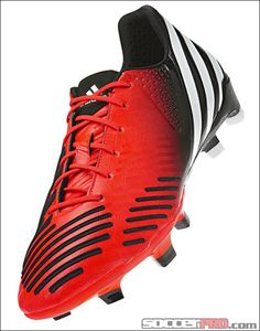 adidas Predator LZ TRX Soccer Cleats - Infrared with Running White and Black...$87.99