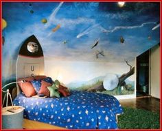 cool Space Room Decor for Kids