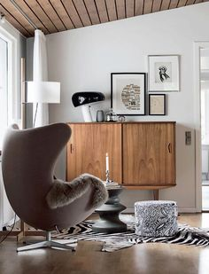 urbnite — Egg Chair by Arne Jacobsen