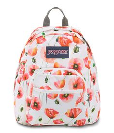 Small and light, the JanSport Half Pint is the perfect throw-on-and-go backpack. Features include a front utility pocket and key clip. Cute Backpacks, School Backpacks, Mini Backpack, Backpack Bags, Jansport Superbreak Backpack, Cute Bags, Purses And Handbags, Half Pint, Shoe Bag