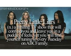 This is what I do. PLL is such an addicting show. Gr! I have to wait an entire week to see the next episode.
