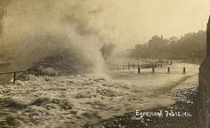 Egremont 1914 Liverpool England, New Brighton, Where The Heart Is, Niagara Falls, Manchester, Past, Nautical, Buildings, Nostalgia