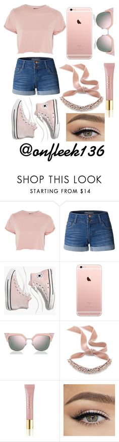 """Untitled #413"" by onfleek136 ❤ liked on Polyvore featuring Topshop, LE3NO, Madewell, Fendi, Fallon and AERIN"