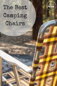 The Best Camping Chairs Florida Camping, Kayak Camping, Camping And Hiking, Camping With Kids, Camping Tips, Hiking Tips, Hiking Gear, Florida Campgrounds, Gifts For Campers