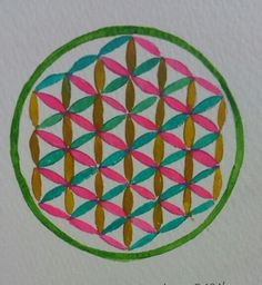 Study of flower of life