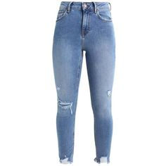 New Look Jeans Skinny Fit ❤ liked on Polyvore featuring jeans, pants, bottoms, calças, skinny fit jeans, blue jeans, super skinny jeans, skinny jeans and skinny leg jeans